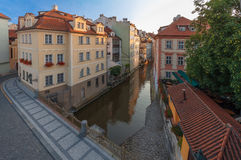 Kampa and Devil´s Stream Royalty Free Stock Photography