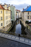 Kampa Island on the River Chertovka. In Prague Royalty Free Stock Image