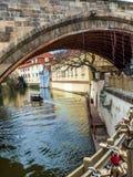 Kampa wyspa w Praga fotografia royalty free