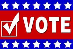 Kampagnen-Schilder Stockbild