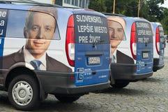 Kampagnenautos Lizenzfreie Stockbilder