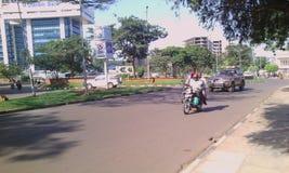 Kampala a cidade à pérola de África Imagem de Stock