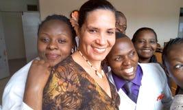 Kampala het internationale universitaire het onderwijsziekenhuis en resesarch Royalty-vrije Stock Foto