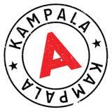 Kampala stamp rubber grunge Stock Photos