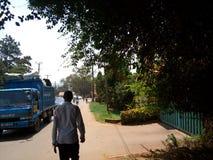 Kampala streets, Uganda royalty free stock image