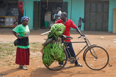 KAMPALA, UGANDA Lizenzfreies Stockfoto