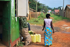 KAMPALA UGANDA Royaltyfri Fotografi