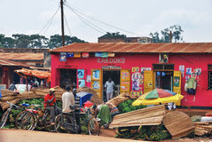 KAMPALA, UGANDA Stockbild