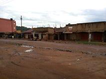 Kampala voorsteden royalty-vrije stock foto