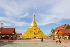 KAMPANGPETCH, TAILANDIA - SEP29, 2015: Viaje turístico en p de oro Imágenes de archivo libres de regalías