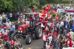 Kampania polityczna wiec opozycja w Nikaragua Zdjęcie Stock