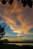 Kampar西湖庭院 库存图片