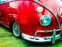 Kampeerautobestelwagen Stock Afbeelding