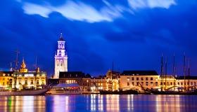 Kampen τή νύχτα Στοκ εικόνα με δικαίωμα ελεύθερης χρήσης