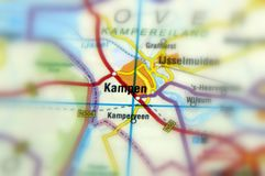 City of Kampen - Netherlands. Kampen is a city in the province of Overijssel, Netherlands Europe Royalty Free Stock Photo