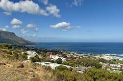 Kampenbaai, de Atlantische Oceaan, Kaapstad Royalty-vrije Stock Foto's