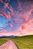 Kampenwand 24 de montagne Images libres de droits