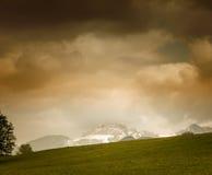 Kampenwand 21 della montagna Fotografia Stock Libera da Diritti