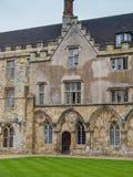 Kampf-Abtei bei Hastings Stockfoto
