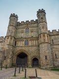 Kampf-Abtei bei Hastings Stockbilder