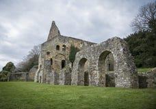 Kampf-Abtei, Sussex, Großbritannien Stockfotografie