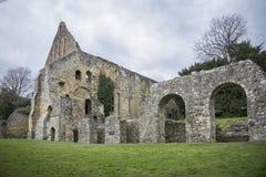 Kampf-Abtei, Kampf, Sussex, Großbritannien Lizenzfreie Stockfotos