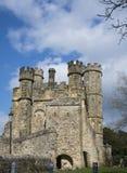 Kampf-Abtei, Kampf, Sussex, Großbritannien Stockbild