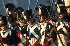 Kampf bei Austerlitz 2009 Lizenzfreie Stockbilder