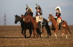 Kampf bei Austerlitz 2009 Lizenzfreie Stockfotografie
