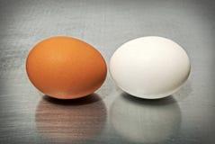 Kampf der Eier stockbilder