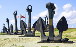 Kampf des atlantischen Denkmals Stockfotos