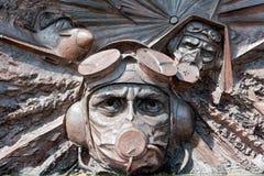 Kampf des Großbritannien-Denkmals lizenzfreie stockfotos