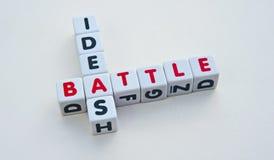 Kampf für Ideen Lizenzfreie Stockfotos