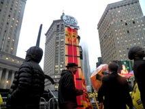 Kampf für Nationaltag $15 Aktion-neuer York-Stadt Stockbild