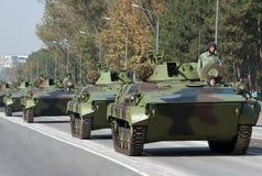 Kampf-Fahrzeug der Infanterie-M80 Stockfotos