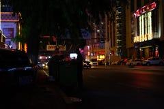 Kampf-Leben in einer Stadt lizenzfreie stockfotografie