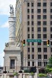 Kampf-Monument in Baltimore lizenzfreie stockfotografie