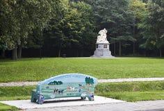 Kampf von Heiligerlee-Denkmälern in den Niederlanden Lizenzfreie Stockfotos