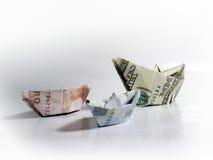 Kampfbargeld Stockbilder