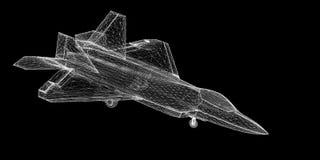 Kampfflugzeug Lizenzfreie Stockfotos