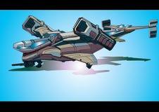Kampfflugzeug stock abbildung