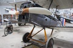 Kampfflugzeug Bristols F.2 Lizenzfreies Stockfoto