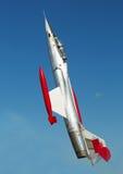 Kampfflugzeug CF101 stockbild