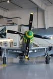 Kampfflugzeug des niedrigen Flügels der Weinlese Stockbilder