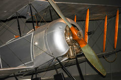 Kampfflugzeug, Erster Weltkrieg Stockfotografie