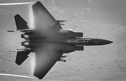 Kampfflugzeug F15 Stockfotografie
