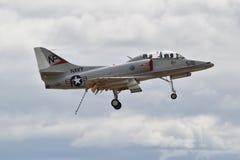 Kampfflugzeug A4 Skyhawk lizenzfreie stockfotografie