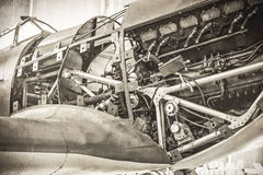 Kampfflugzeug WW2 Lizenzfreie Stockfotos