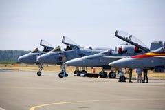 Kampfflugzeuge Stockfotos