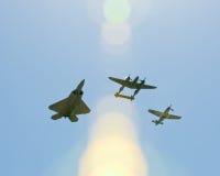 Kampfflugzeuge Lizenzfreies Stockbild